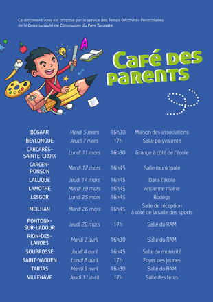Café parents - Flyer général